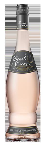 Vinho Rosé French Escape Alpes Hautes Provence 2017