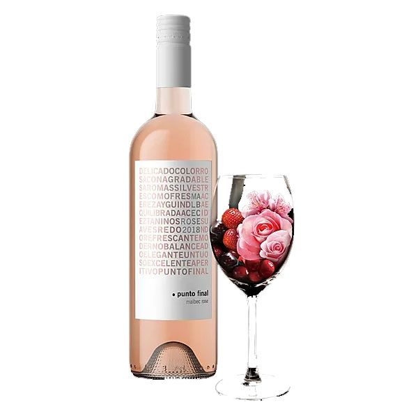 Vinho Rose Punto Final Malbec Family Signature 750ml