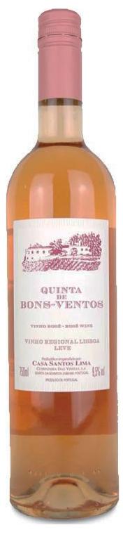 Vinho Rosé Quinta de Bons Ventos 750ml
