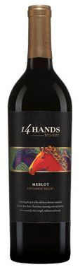 Vinho Tinto 14 Hands Merlot 2015