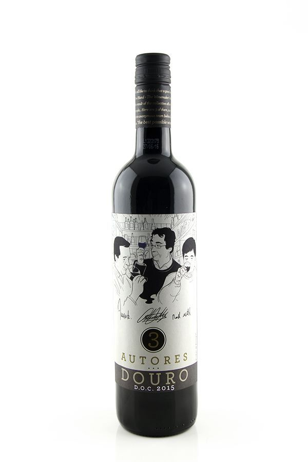 Vinho Tinto 3 Autores Douro D.O.C.