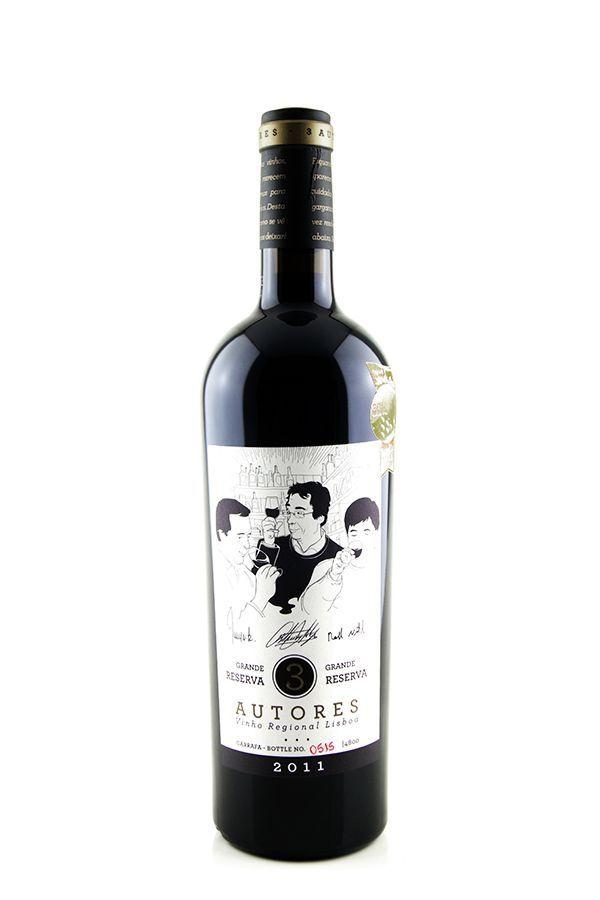Vinho Tinto 3 Autores Grande Reserva 2011