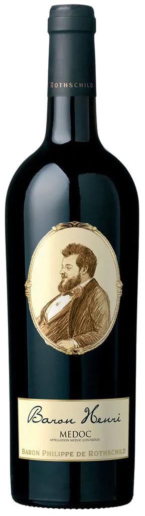 Vinho Tinto Baron Henri Médoc 2015