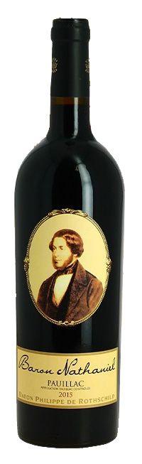 Vinho Tinto Baron Nathaniel Pauillac 2015 | Baron Philippe de Rothschild