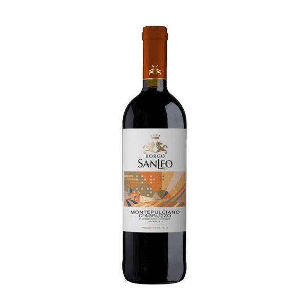 Vinho Tinto Borgo SanLeo Montepulciano Dabruzzo 2017