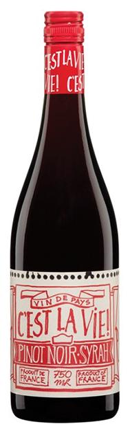 Vinho Tinto C'est La Vie! Pinot Noir-Syrah 2016