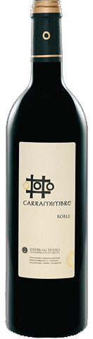 Vinho Tinto Carramimbre Roble DO 2012