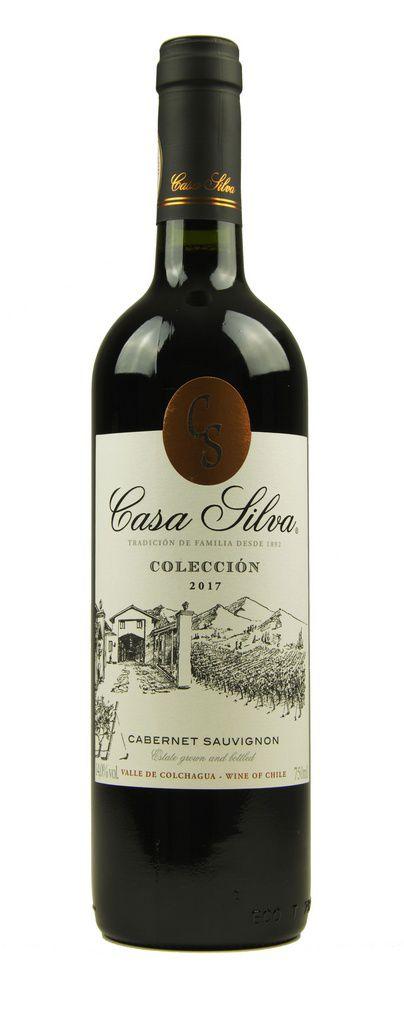 Vinho Tinto Casa Silva Colección Cabernet Sauvignon 2017