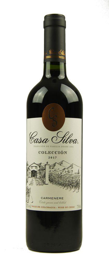 Vinho Tinto Casa Silva Colección Carmenere 2017