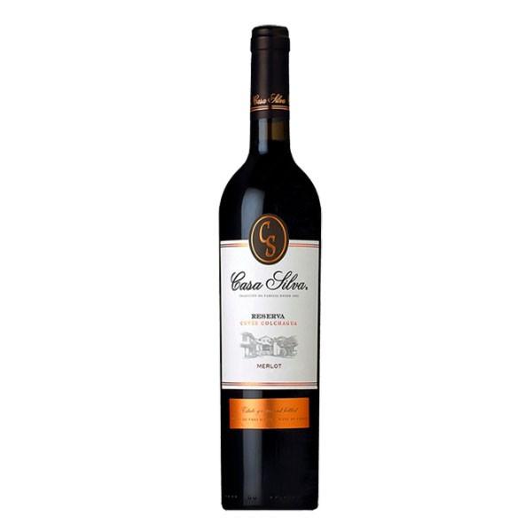 Vinho Tinto Casa Silva Reserva Merlot 750mL