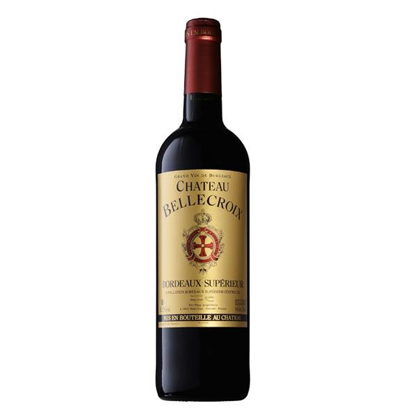 Vinho Tinto Chateaou BelleCroix Bordeaux Superieur 750ml