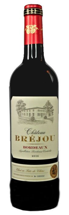 Vinho Tinto Chateau Brejou Bordeaux 2016