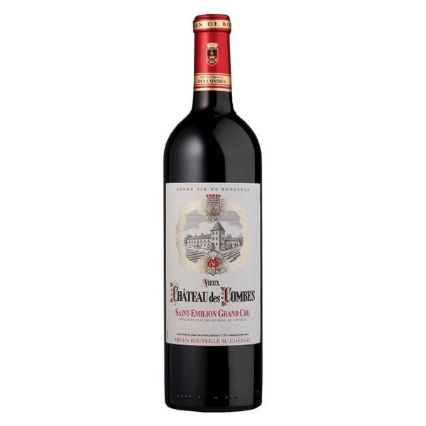 Vinho Tinto Chateau Des Combes Saint Emilion 750ml