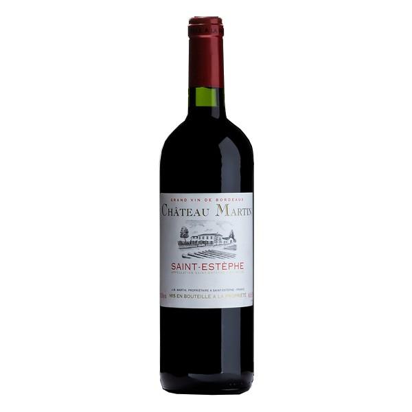 Vinho Tinto Chateau Martin Saint Estephe Bordeaux 750ml