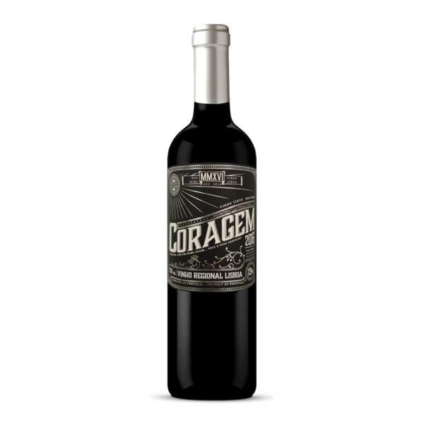 Vinho Tinto Coragem Regional de Lisboa 750ml