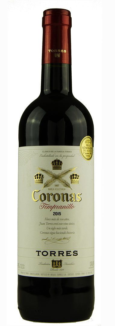 Vinho Tinto Coronas Torres Tempranillo 2015
