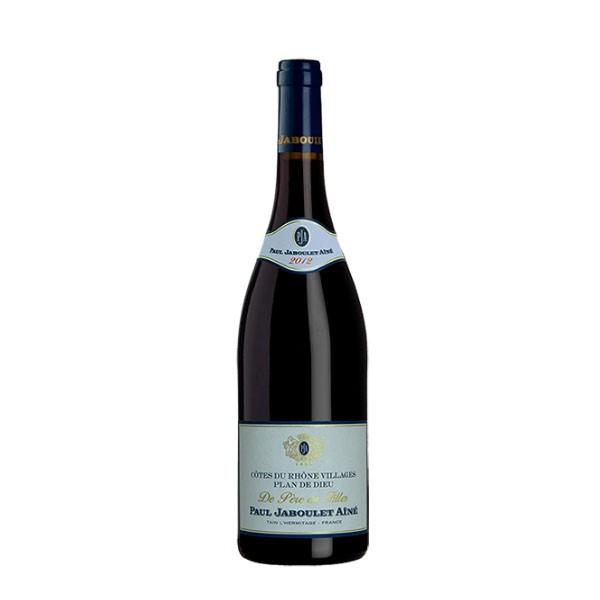 Vinho Tinto Cotes Du Rhône Villagens Plan de Dieu De Peres em Filles