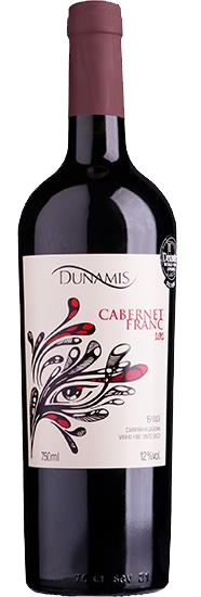 Vinho Tinto Dunamis Cabernet Franc 2016