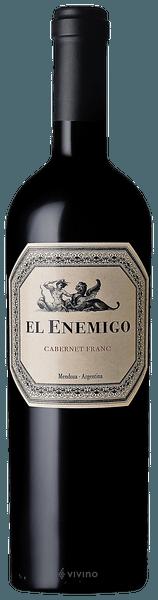 Vinho Tinto El Enemigo Cabernet Franc 2015