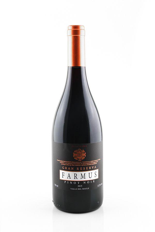 Vinho Tinto Farmus Grand Reserva Pinot Noir 2015