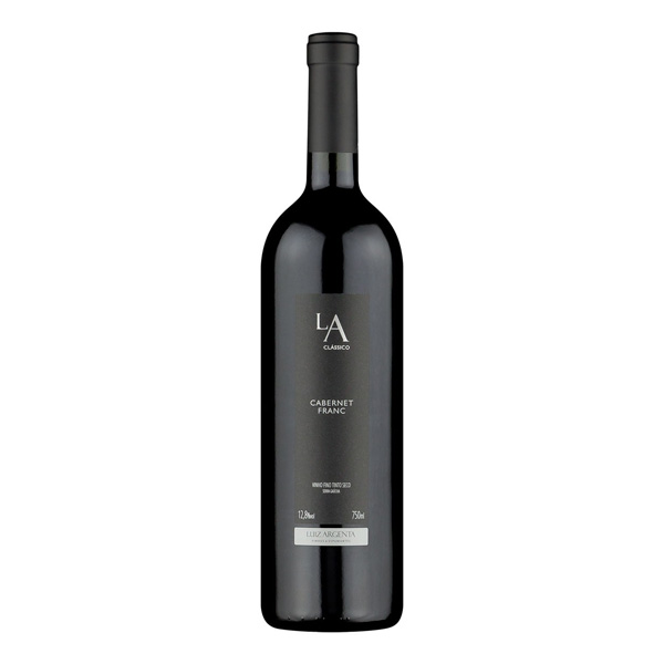 Vinho Tinto Luiz Argenta L.A. Classico Cabernet Franc 750ml