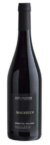 Vinho Tinto Macarico Rosso del Vulcano Basilicata 750ml