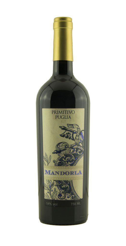 Vinho Tinto Mandorla Primitivo de Puglia IGT