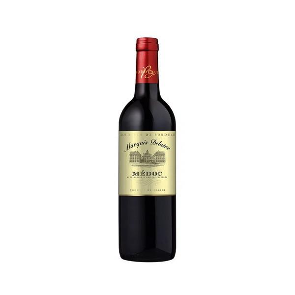 Vinho Tinto Marquis Delatre Médoc 750ml