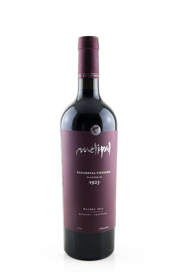Vinho Tinto Melipal Nazarenas Vineyard Malbec