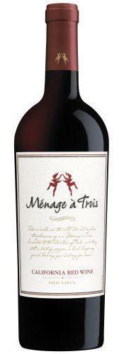 Vinho Tinto Ménage à Trois Califórnia Red Wine 750ml