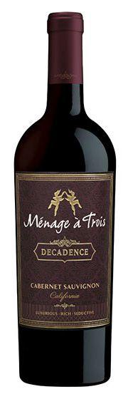 Vinho Tinto Ménage à Trois Decadence 2016