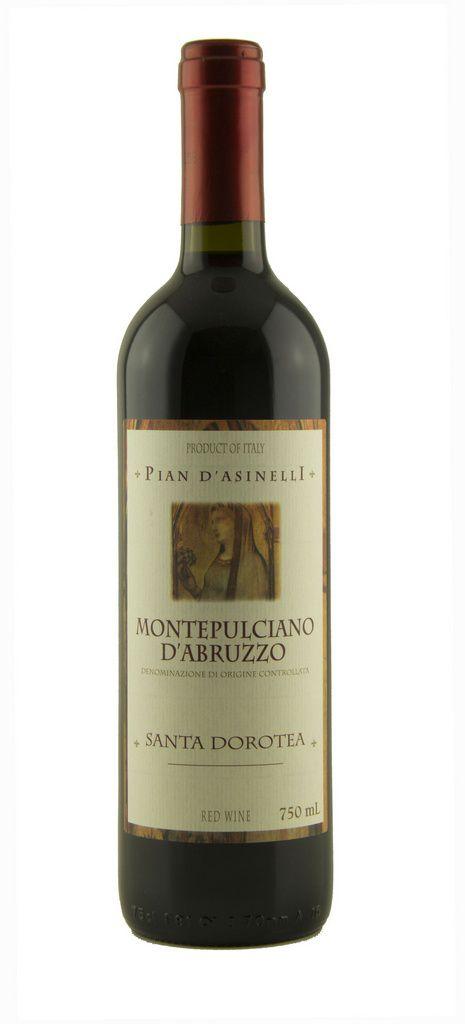 Vinho Tinto Montepulciano D'Abruzzo  DOC Santa Dorotea