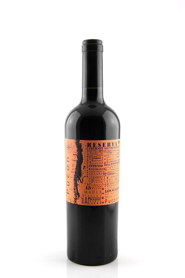 Vinho Tinto Pucon Reserva Cabernet Sauvignon 2016