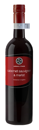 Vinho Tinto Puklavec & Friends Cabernet Sauvignon e Merlot 2014