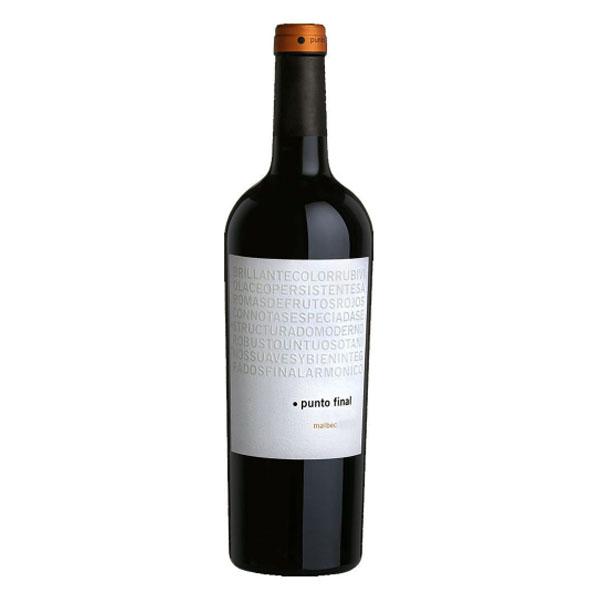 Vinho Tinto Punto Final Gran Reserva Malbec Etiqueta Branca 750ML