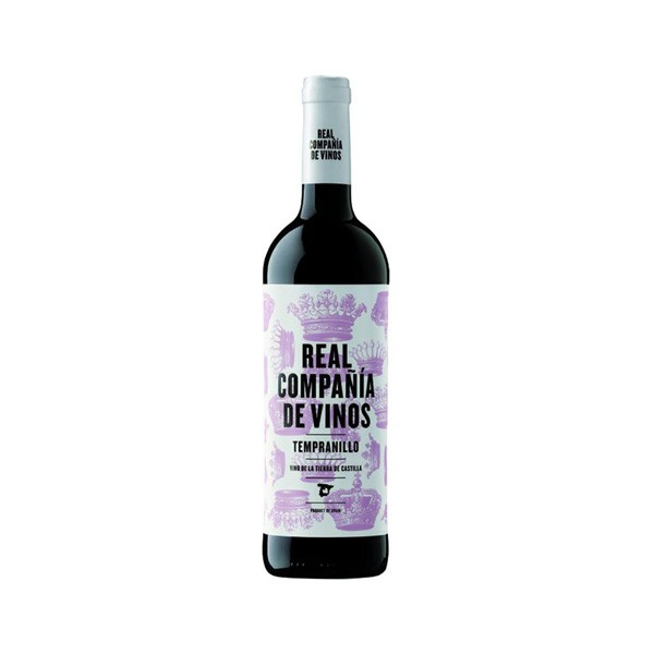 Vinho Tinto Real Compañia Tempranillo 750ml