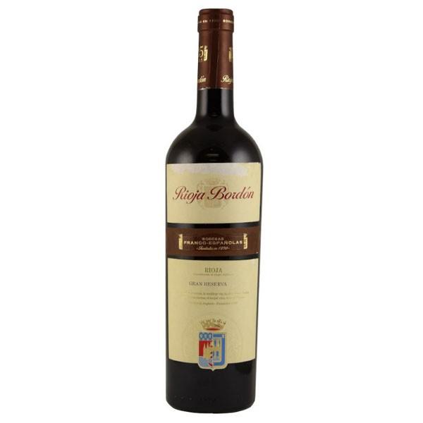 Vinho Tinto Rioja Bordón Gran Reserva 750mL
