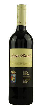 Vinho Tinto Rioja Bordón Reserva DOC 2013