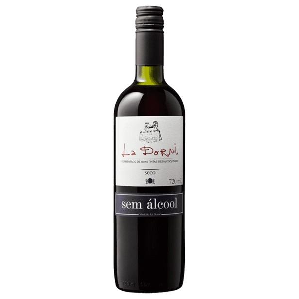 Vinho Tinto sem Alcool Seco La Dorni 720ml