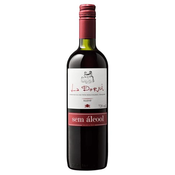 Vinho Tinto sem Alcool Suave La Dorni 720ml
