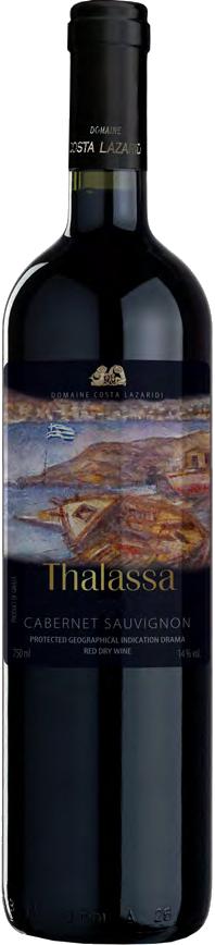 Vinho Tinto Thalassa Cabernet Sauvignon 2017