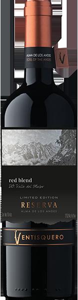 Vinho Tinto Ventisquero Reserva Alma de Los Andes Red Blend 2018