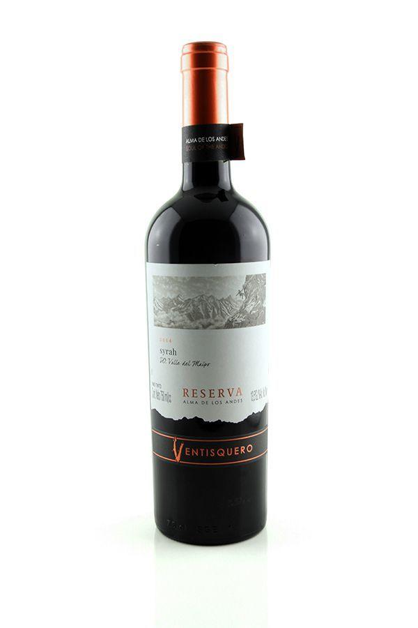 Vinho Tinto Ventisquero Reserva Alma de Los Andes Syrah