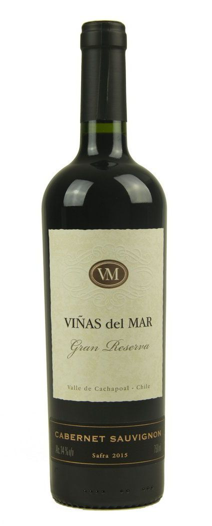Vinho Tinto Viñas del Mar Gran Reserva Cabernet Sauvignon 2015
