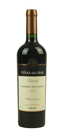Vinho Tinto Viñas del Mar Reserva Cabernet Sauvignon D.O. 2014