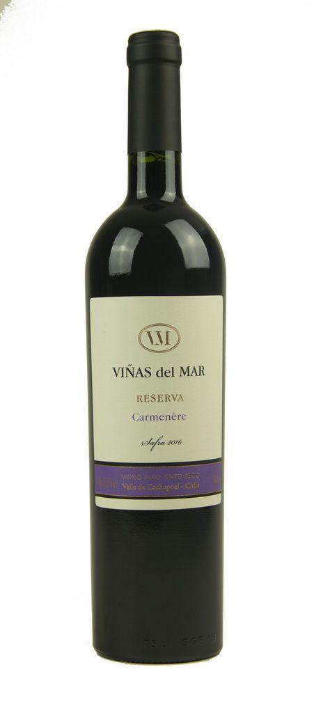Vinho Tinto Viñas del Mar Reserva Carmenére 2016