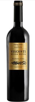 Vinho Tinto Visconti Della Rocca Primitivo Salento IGT 2017