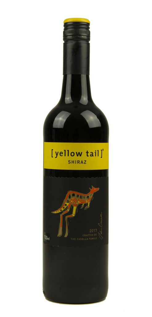 Vinho Tinto Yellow Tail Shiraz 2017