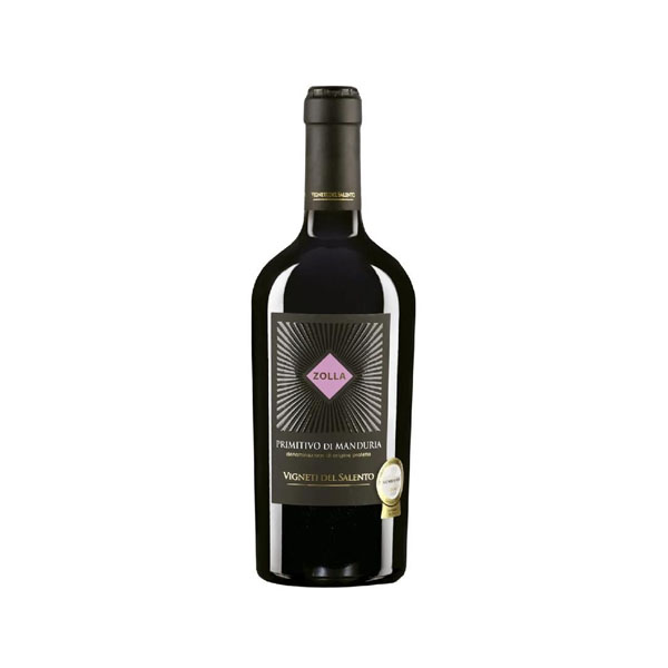 Vinho Tinto Zolla Primitivo de Manduria DOP 750ml