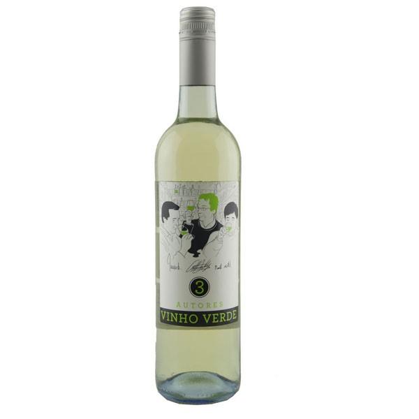 Vinho Verde Branco  3 Autores D.O.C.